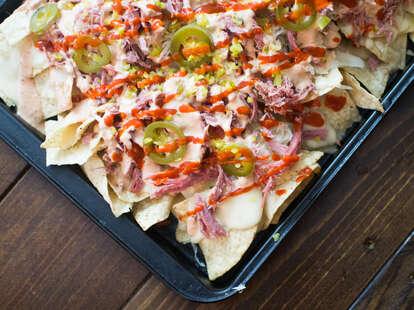 reuben nachos