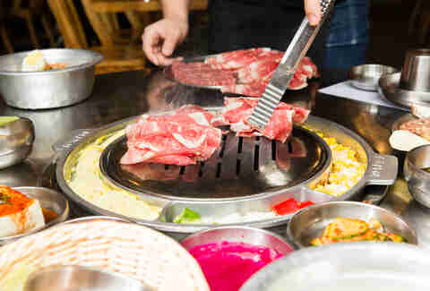 how to order korean bbq