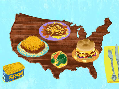 Gross American foods
