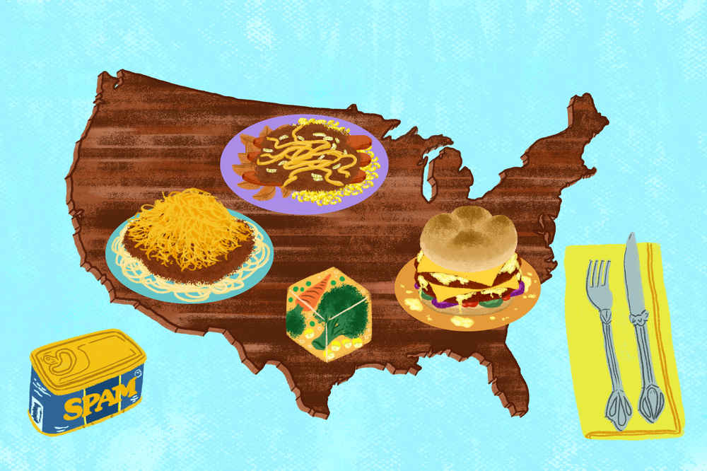 Worst Foods To Eat In Every State That People Actually Love - Map us foods pheonicx