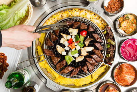 how to order and eat korean bbq thrillist rh thrillist com best korean buffet near me best korean buffet near me