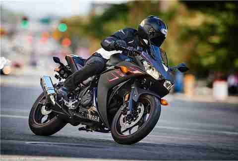 Smaller sport bikes are best for beginners