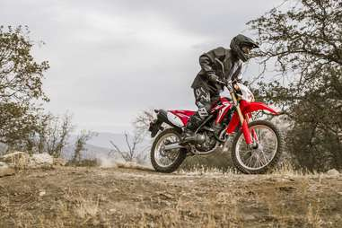 Dual sports bikes are great for novice riders