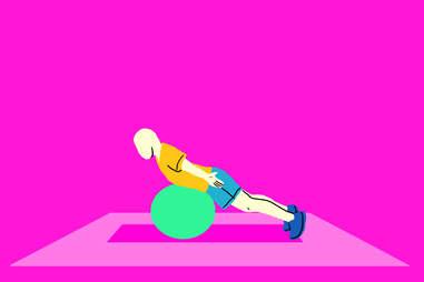 exercise ball cobra