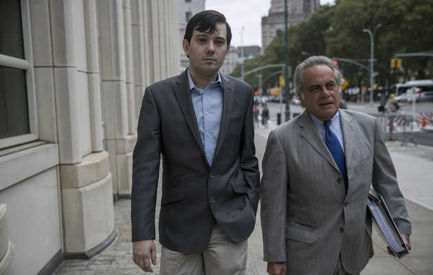 Pharma Bro Martin Shkreli Shames Other CEOs on Website Apparently Designed in the '90s