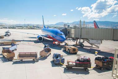Southwest plane boarding