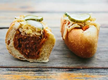 Butcher and Bee Charleston sandwich