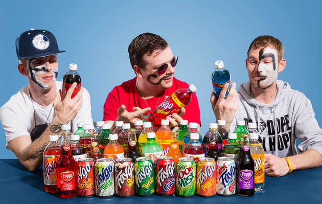 Faygo Flavors, Ranked by Actual Juggalos