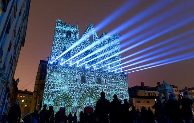 France's Fête des Lumières Is a Light Festival Unlike Anything You've Ever Seen