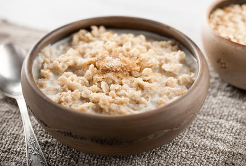 sugary oatmeal