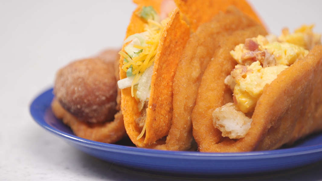 Taco Bell New Naked Chicken Chalupa