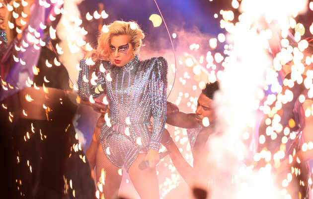 The Story Behind Lady Gaga's Insane Super Bowl Half Time Show Stunt