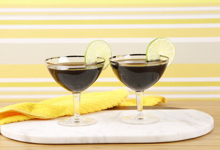 Stop Your Hangover in Its Tracks With This Activated Charcoal Margarita