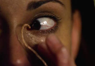 gross tv moments - the strain eye worm