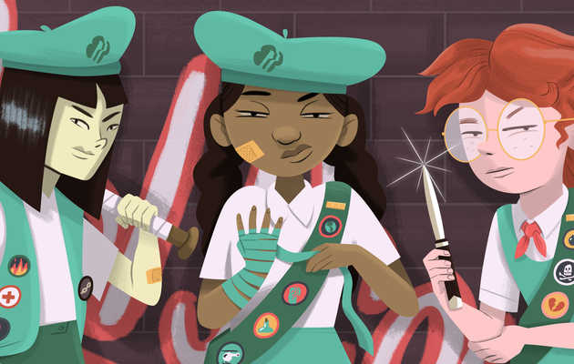 The Cutthroat World of Selling Girl Scout Cookies