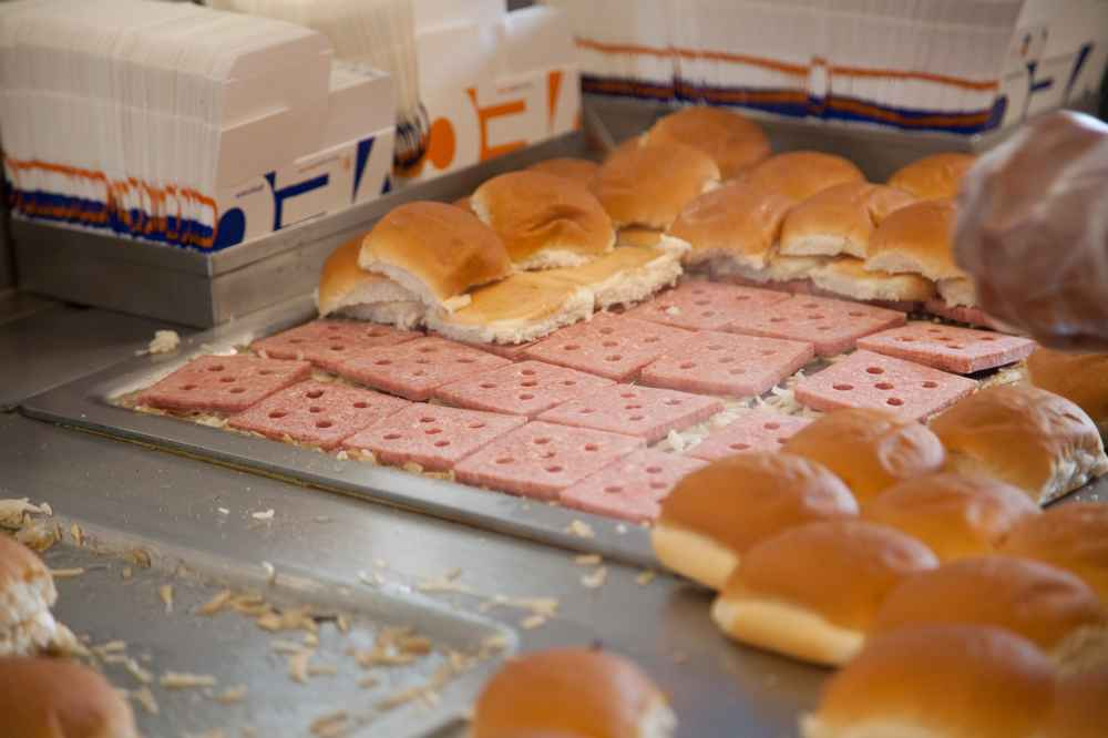 Why Do White Castle Burgers Have Holes In The Meat Patties Thrillist