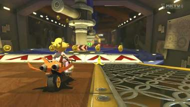 best mario kart courses - tick tock clock