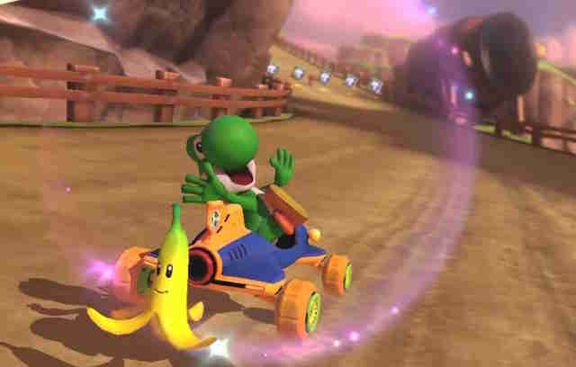 best mario kart courses - yoshi valley