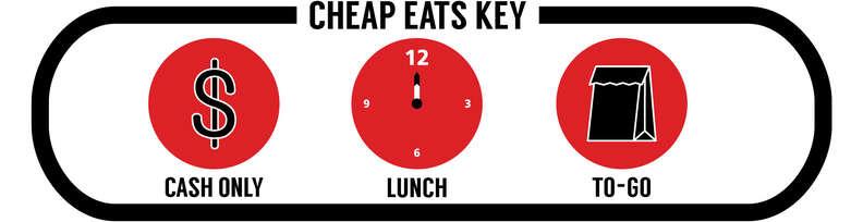 cheap eats key