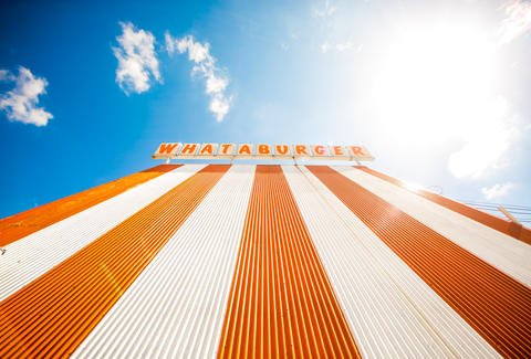 Whataburger restaurant sign