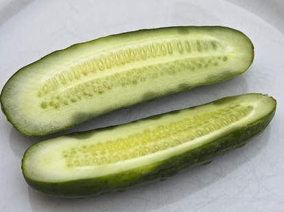 pickled cucumbers or pickles