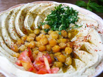 hummus syrian food