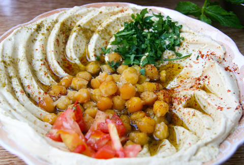hummus syrian food