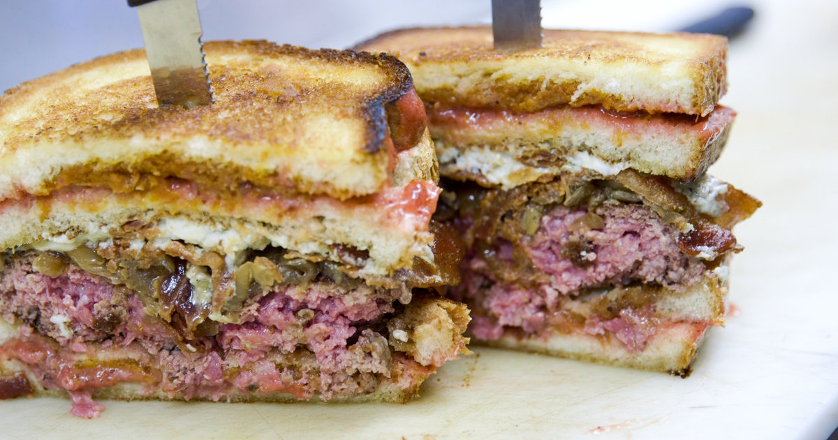You've Been Waiting Your Whole Life to Face San Diego's the Kraken Burger