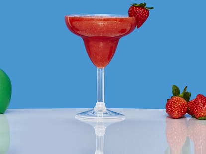 Strawberry Daiquiri with lime juice