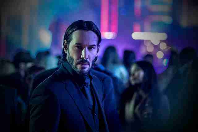 John Wick Chapter Two Keanu Reeves