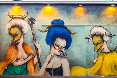 Art Murals at Wynwood