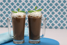 Tequila Mint Hot Chocolate, for When Schnapps Just Won't Cut It