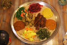 Get Authentic Ethiopian Injera Bread at Awash in Brooklyn