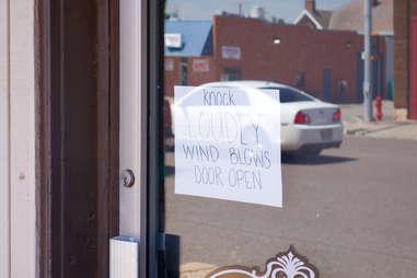 El Reno Wind Sign