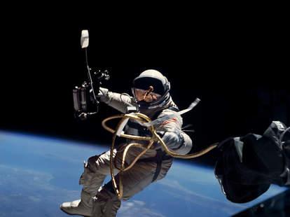 nasa poop in space