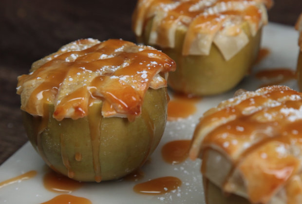Apple Pie-Stuffed Apples, for When Pie Just Isn't Apple-y Enough