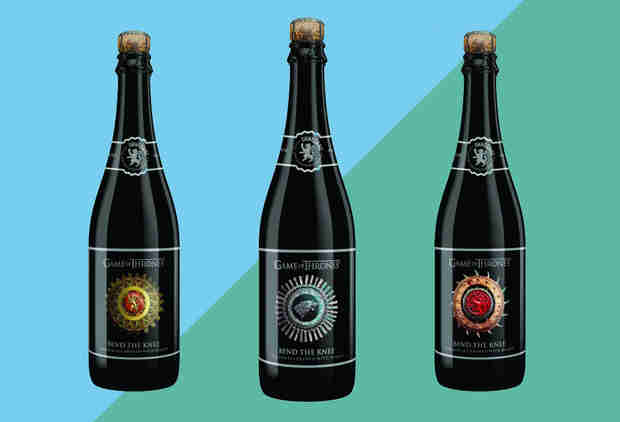 Behold! The Next 'Game of Thrones' Beer Is Coming, and It's Golden.