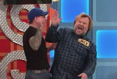 Jack Black Got Slapped in the Face on 'Price Is Right'