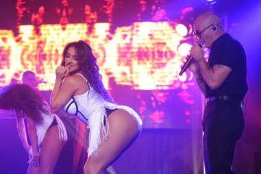 Pitbull at LIV