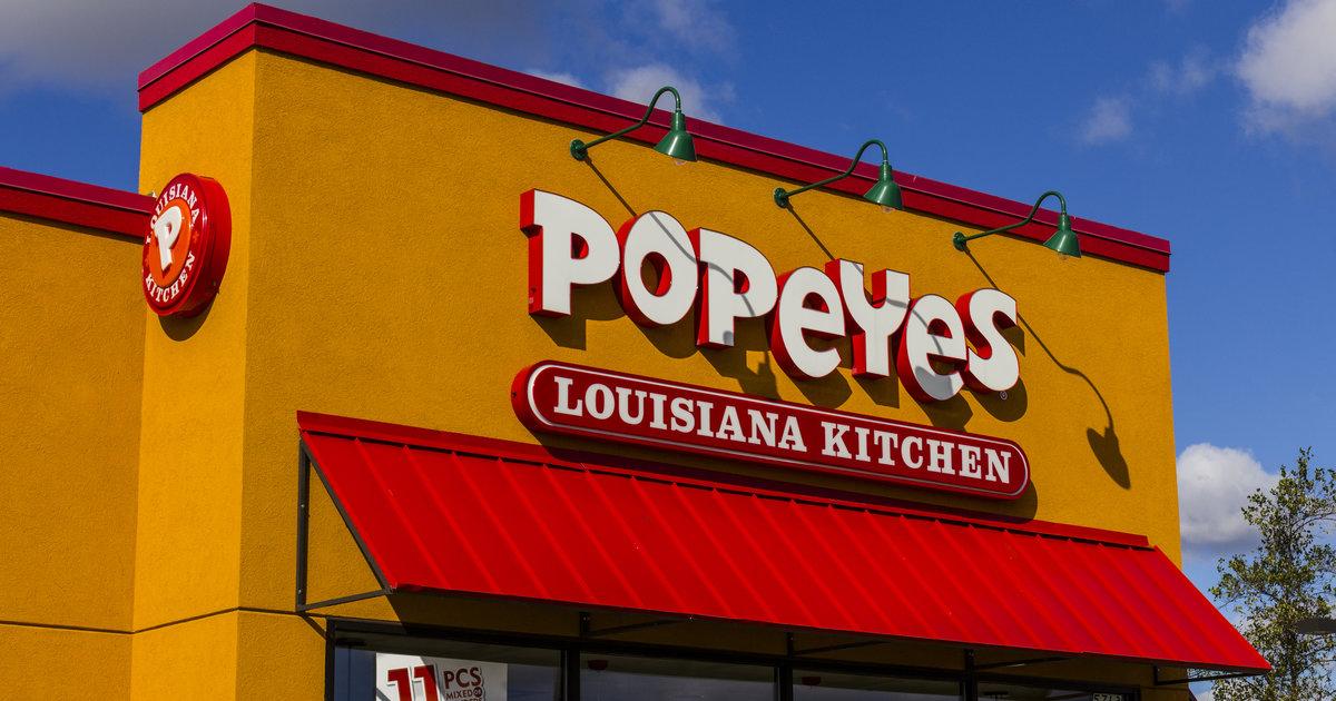 Burger king owner rbi buys popeyes louisiana kitchen for for Popeyes louisiana kitchen austin tx