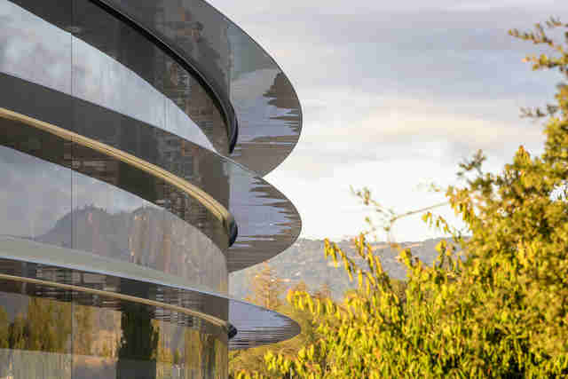 apple park facade