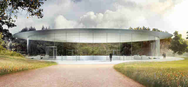Steve Jobs theater apple park campus
