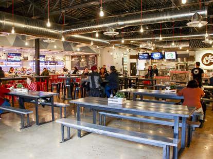 the block food hall
