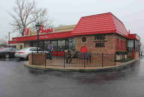 The first chick-fil-a