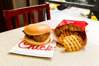 Chick-fil-A chicken