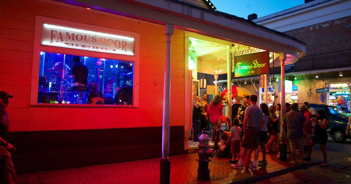 Best bourbon street bars in new orleans french quarter for Bourbon street fish