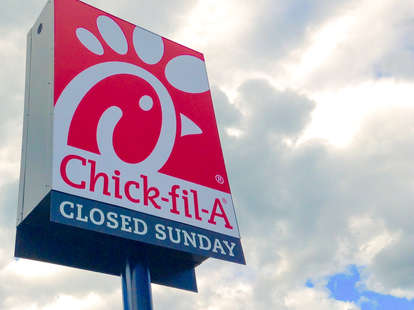 Chick-fil-A signs