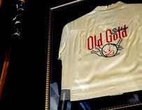 The Old Gold framed shirt