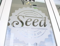 Window of Seed Kitchen & Bar
