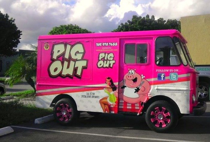 Pig Out Food Truck Eat Thrillist Miami